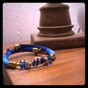 Vetro Artistico Murano velvet Italian bracelet